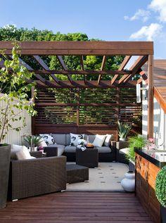 patio by Terra Firma Design