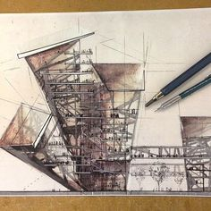Interesting Find A Career In Architecture Ideas. Admirable Find A Career In Architecture Ideas. Architecture Graphics, Architecture Board, Architecture Drawings, Architecture Design, Computer Architecture, Section Drawing, Model Sketch, Architectural Section, Art Sculpture