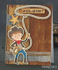Yee-Haw! Card by @Emily Branch