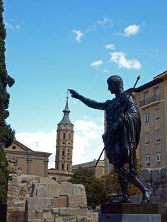 Emperor Augustus in Zaragoza