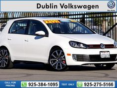 2013 Volkswagen GTI 4-Door Autobahn 23k miles Call for Price 23729 miles 925-384-1095 Transmission: Automatic  #Volkswagen #GTI #used #cars #DublinVolkswagen #Dublin #CA #tapcars