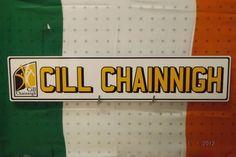 Kilkenny GAA License Plate Hurling All Ireland.Irish Eire Cill Chainnigh Gaelic #Unbranded