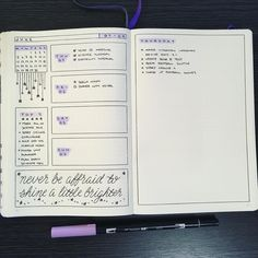 """70 Likes, 2 Comments - JashiiCorrin (@jashiicorrin) on Instagram: """"And my first """"weekly"""" to match! Enjoying trying up some new layouts ☺️ ----------- #bulletjournal…"""""""