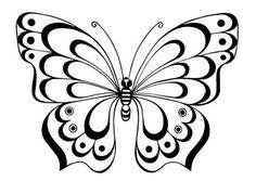 Шаблоны для творчества. Бабочки