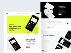 Ui Website, App Landing Page, Creative Web Design, Web Layout, Layout Design, App Ui Design, Web Banner, Layout Inspiration, Presentation Design