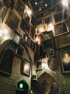 Inside The Hogwarts Castle at Universal