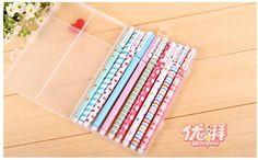 10 Kawaii Color Gel Pens; Cute Pens, Korean Floral Colored Gel Ink Pens