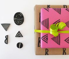 Best holiday gift wrap ideas   100 Layer Cake
