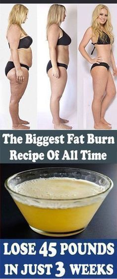 Amazing Recipe: Lose 45 Pounds in Just 3 Weeks - Health Beauty Tips Fitness Diet, Fitness Weightloss, Health Fitness, Weight Loss Drinks, Weight Loss Tips, Losing Weight, Loose Weight, How To Lose Weight Fast, 45 Pounds