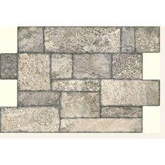 FLOORS 2000�6-Pack 16-in x 24-in Fiyord Gray Glazed Porcelain Floor Tile for kitchen or bathroom floor