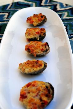 Cheese clams casino