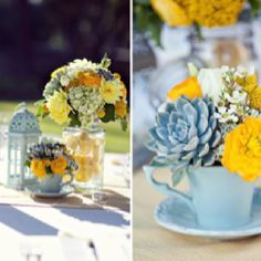 teacups and books wedding centerpieces - Google Search