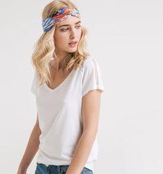 T-shirt+plumetis+Femme