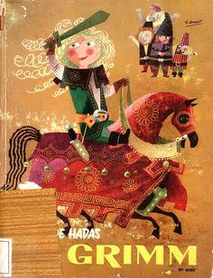 Cuentos de hadas de Grimm : 2a. serie/ narrados para los niños por H.C.Granch; ilustraciones de J. Arnalot (1959)