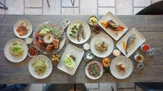 Sommer menukort / Frank Lantz POPUP Restaurants