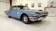 1964 Ford Thunderbird 2-door hardtop coupe with swing-away steering wheel     This 1964 Ford Thunderbird was manufactured in Wixom, Michigan, it is a Thunderbird 2-door hardtop, original engine is 390-cubic inch, V-8. It is number 69424 Thunderbird produced in 1964 with the new restyled body. The car has Danish registration papers. The car was undercoated for rust protection.     Car Specifications:  VIN: 5Y83Z169424  Odometer reading: 53866 miles  - K200
