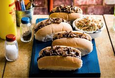 Originally referred to as the loose meat sandwich, this American favourite is a sandwich that the whole family will enjoy.