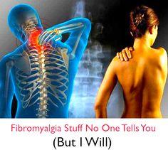 Fibromyalgia Stuff No One Tells You (But I Will) tootiredtolivebutstillbreathing.blogspot.com