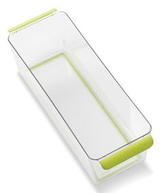 Loving this Deep 4u0027u0027 Fridge/Pantry Storage Bin on #zulily! #zulilyfinds  sc 1 st  Pinterest & Look what I found on #zulily! Shallow 4u0027u0027 Fridge/Pantry Storage Bin ...