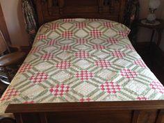 Original quilt at house museum