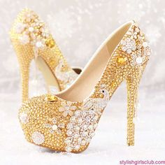 High Heels Winter Party Shoes 2017