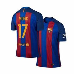 16-17 Cheap Barcelona Home #17 Haddadi Replica Shirt 16-17 Cheap Barcelona Home #17 Haddadi Replica Shirt