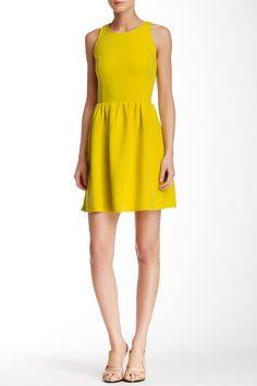 Sleeveless Textile Knit Skater Dress by Love...Ady on @nordstrom_rack