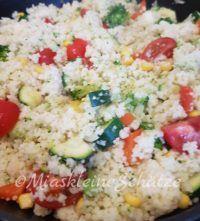 Couscous Pfanne mit frischem Gemüse
