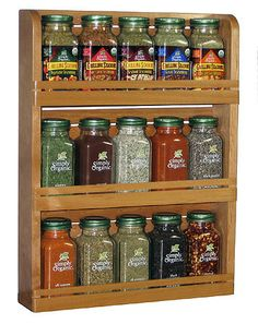 Organic Spice Rack Prepossessing Rsvp International Inc Boosr Bamboo Spice Rack  Essential Oils Design Inspiration