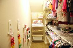 IHeart Organizing: Reader Space: A Lovey Closet for Little Ladies