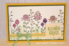 STEMPELI . . . stempeln bringt Freude : );  SaleA-Bration; SU; Stampin'Up!, Flowering Fields