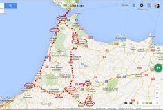 Mapa itinerario Marruecos