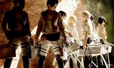 Attack-on-Titan-cosplay-group