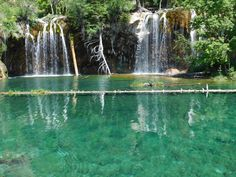 Hanging Lake Colorado [OC] [4608x3456] http://ift.tt/29iiUgn