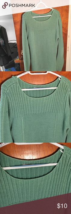 Mint green long sweater from Old Navy size 2x Mint green long sweater from Old Navy size 2x, looks super cute with black leggings Old Navy Other