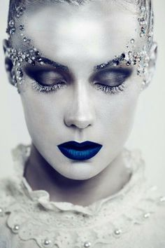 gothic ice princess makeup - Google Search