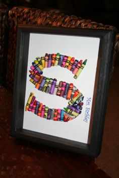 Craft Ideas with Crayons   This is all over the blog world! But I do have a few pointers..