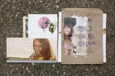 mini scrapbooks/journals -- via Making Nice in the Midwest blog
