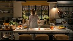 Meryl Streep in this gorgeous french kitchen from the movie 'It's Complicated'.