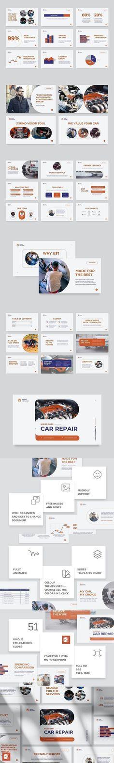 Car Repair PowerPoint Presentation