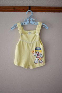 Vintage Sailor Romper Size 6 Months  Vintage Clothing