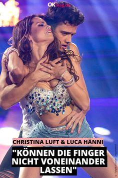 """Sind Christina Luft und Luca Hänni jetzt ein Paar oder nicht? Eine Frage, die viele """"Let's Dance""""-Fans seit Wochen beschäftigt. Jetzt soll ein Freund über die Beziehung der beiden ausgepackt haben!  #letsdance #couple #lucahänni #christinaluft #okmag"""