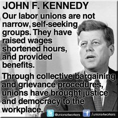 JFK. President. Union.