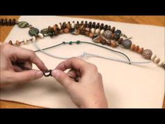 Basic Jewelry Knotting Techniques - YouTube