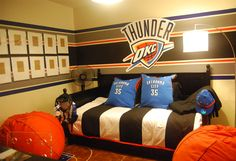 1000 Images About Okc Thunder Bedroom On Pinterest