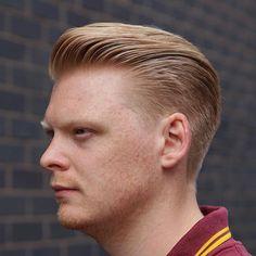 Men's Haircuts, Haircuts For Men, Man Cut, Hair And Beard Styles, Hair Styles, Modern Pompadour, Barbers Cut, Haircut Men, Pompadour Hairstyle