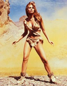Raquel Welch...Hammer started up her career and this is the Pin-up Poster of the Decade!