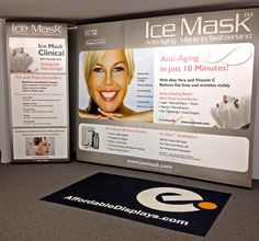 """""""Thanks for taking care of the production. We had a good congress and the backdrops were perfect.""""  --Liquid Ice CosMedicals AG, Switzerland  -- Become a more efficient tradeshow exhibitor with our Banner-Mate II™ Series. Finally you'll discover how mobile a banner stand system can truly be. Featuring a lightweight, portable banner and base unit that is perfect for traveling. Each stand and banner packs small within a convenient Canvas travel bag weighing only 8 lbs."""