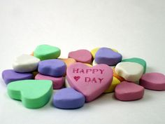Picture of Polymer Clay Candy Hearts