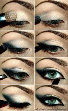 8 Breathtaking Smokey Eye Makeup Tutorials http://iambeautified.com/8-breathtaking-smokey-eye-makeup-tutorials/